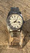 Gents Rolex Datejust 16220 S/Steel 36Mm 2 Years Guarantee