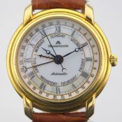 Maurice Lacroix / Masterpiece - Gentleman's Gold/Steel Wrist Watch