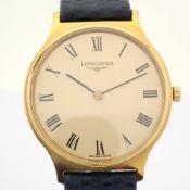 Longines / Classic Manual Winding - Gentleman's Gold/Steel Wrist Watch
