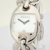 Gucci / 121.5 DIAMOND - Lady's Steel Wrist Watch