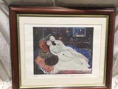 """A Naked Couple In Bed"" Dora Holzhandler"