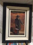 Painting Of A Jewish Rabbi, Signed John Rose