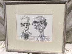 """""""John Major And Douglas Hurd"""" by John Springs"""