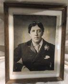 Original Press Photograph of Oscar Wilde