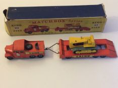Matchbox King Size K-8 Prime Mover - Boxed