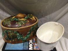 Rare Victorian Majolica Pottery