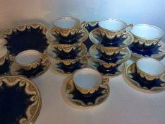 Antique Crown Staffordshire Tea Service