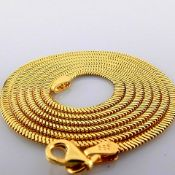 60 cm (23.6 in) Necklace. In 14K Yellow Gold