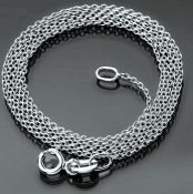 50 cm (19.7 in) Chain Necklace. In 14K White Gold