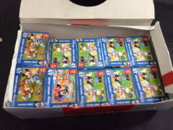 new stock box containing 23 disney mini puzzels