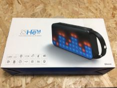 customer returns he speaker with lightshow