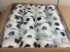 new stock master box of 56 micro fiber football pads