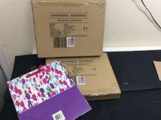 new stock 16 large splodge gift bag in 2 boxes