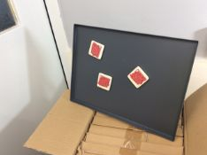 new stock box of 8 magnet display boards (magnets not included)