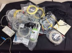 qty mixed cables etc - some new