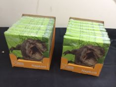 new stock 24 packets of natural history museum napkins in 2 boxes