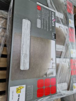 (WG15) Pallet To Contain 25 x New Sealed Packs Of Luxury Vinyl Click Floor Tiles. Stone Effect....