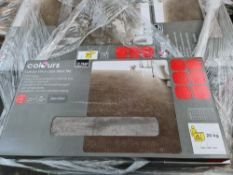 (WG11) Pallet To Contain 21 x New Sealed Packs Of Luxury Vinyl Click Floor Tiles. Slate Effect....