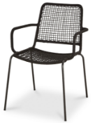 (WG9) Pallet To Contain 21 x New Oberon Rope Arm Chairs. RRP £55 Each