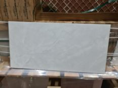Pallet To Contain 25 x New Packs Of Killington Light Grey Marble Effect Floor Tiles. 30x60cm. E...