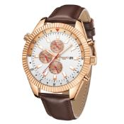Limited Edition Hand Assembled Gamages Hour Rotator Automatic Rose – 5 Year Warranty & Free Delivery