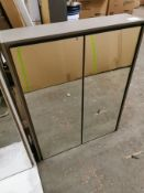 700 x 550mm Willow Mirrored LED Cabinet