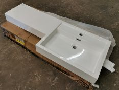 1200mm Polymarble R/H L-Shaped Sink RRP £269