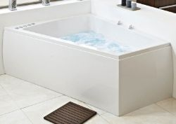 Phoenix Figura R/H 1700 x 1300mm Superstrong Jacuzzi Bath w/panel RRP £1339