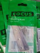 100 pack - 100mm mending plates