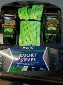2 - 6m - 1000kg Ratchet straps
