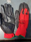 12 pairs work gloves