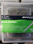 2000 - 55mm Decking screws
