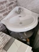 Traditional Italian Washstand Corner Unit RRP £899