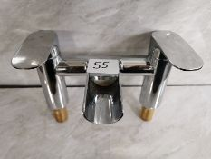 Designer Waterfall Bath Filler Tap Unit RRP £329