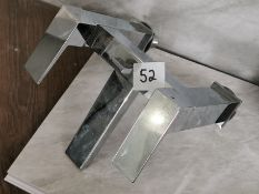 Luxury Square Designer Bath Filler Tap Unit RRP £229