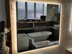 LED Demisting Bathroom Mirror RRP £389 BNIB