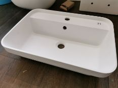 Matt Finish Bathroom Washbowl Basin RRP £229