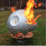 Death Star Steel Fire Pit Sphere