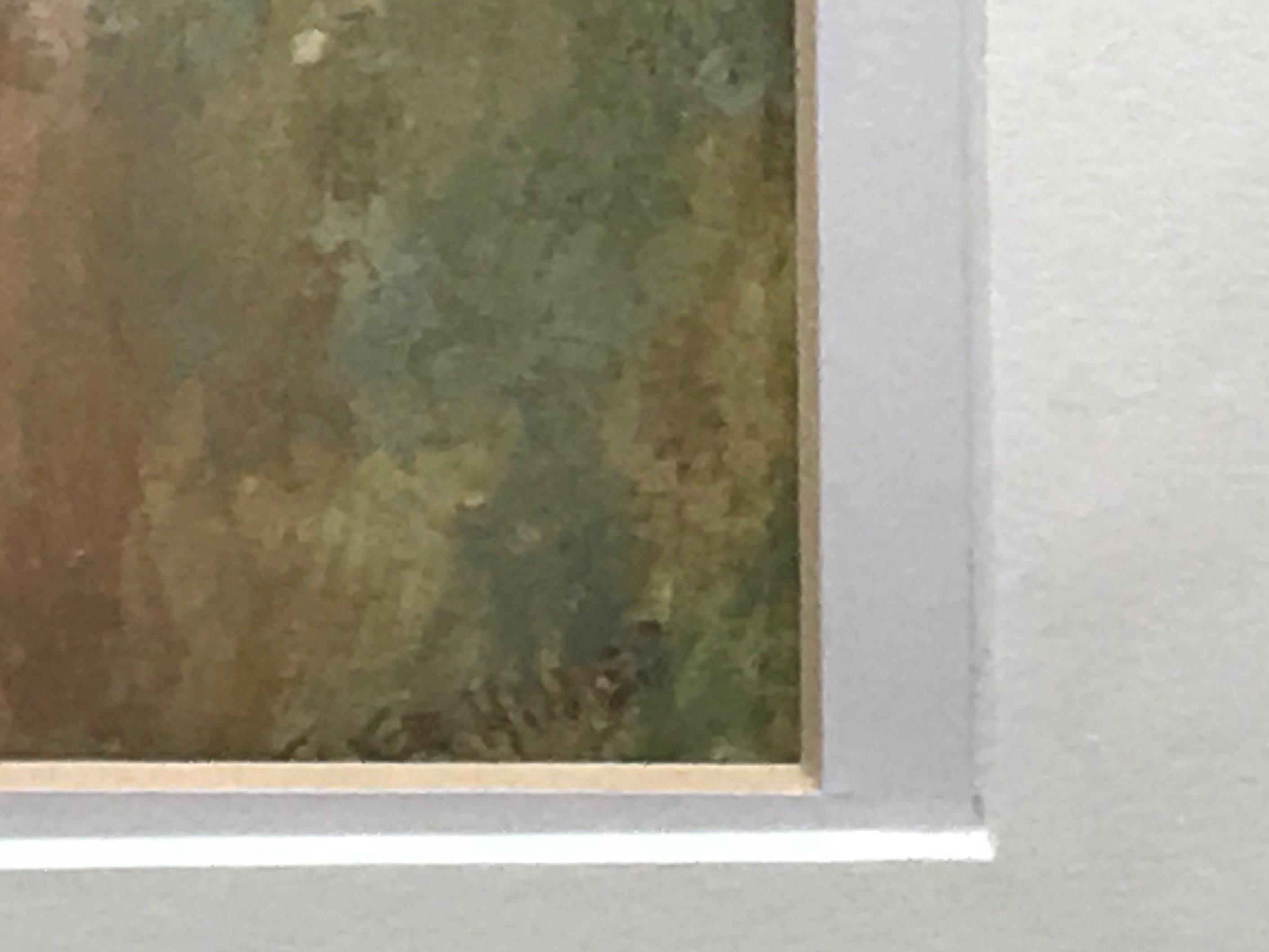 "Frederick Hines ERA (1860-1930) Watercolour ""Feeding doves"" - Image 4 of 4"