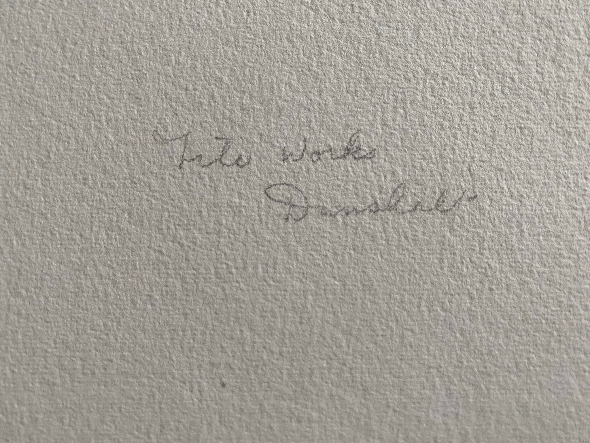 Watercolour signed G. M. Craig, (Gertrude Mary) Tile Works Dunshalt - Image 4 of 4