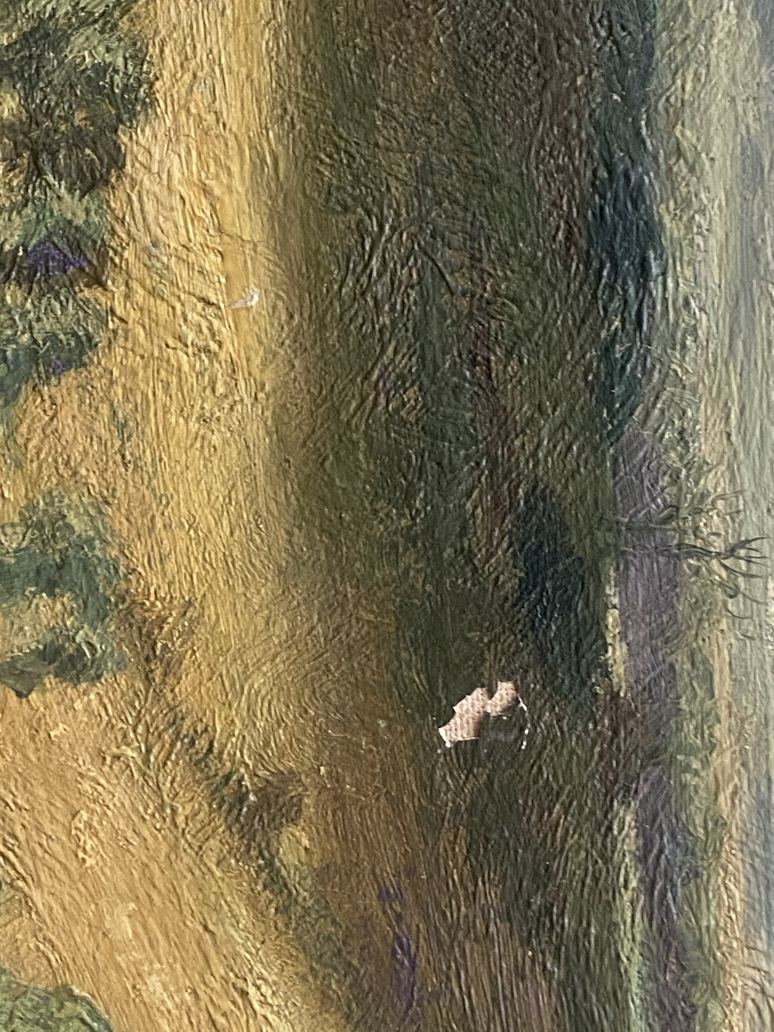 Elliot Seabroke 1886-1950 large signed original oil English Valley - Image 4 of 6