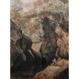 John Blake Macdonald Scottish 1829-1901 ARSA, RAS, RSW watercolour Fishing on the Cawdor Burn