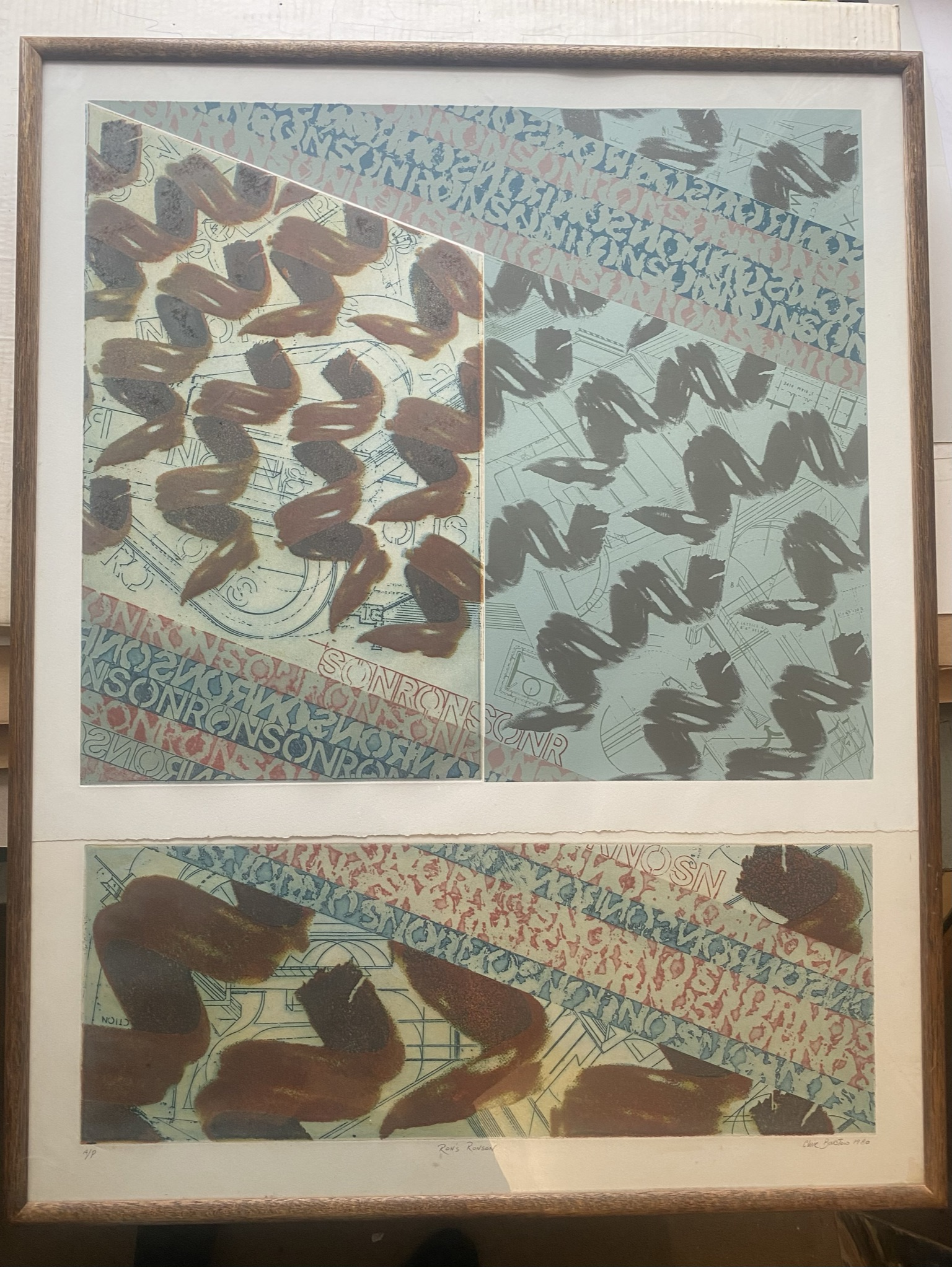 """Clive Bristow """"Rons Ronson"""" artists proof - Image 2 of 5"""