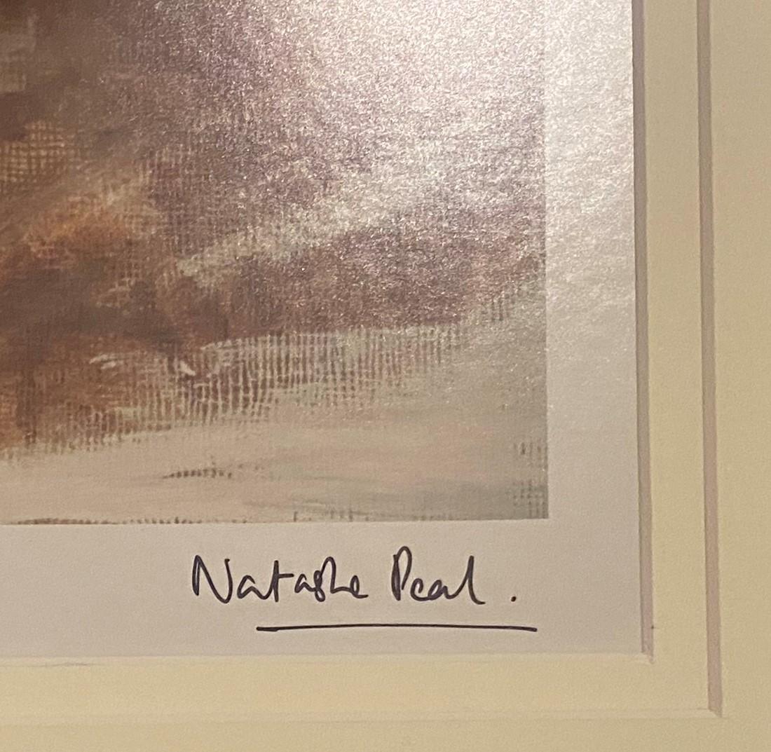 "Natasha Pearl limited edition silver line print 3/10 ""Time"" - Image 2 of 4"