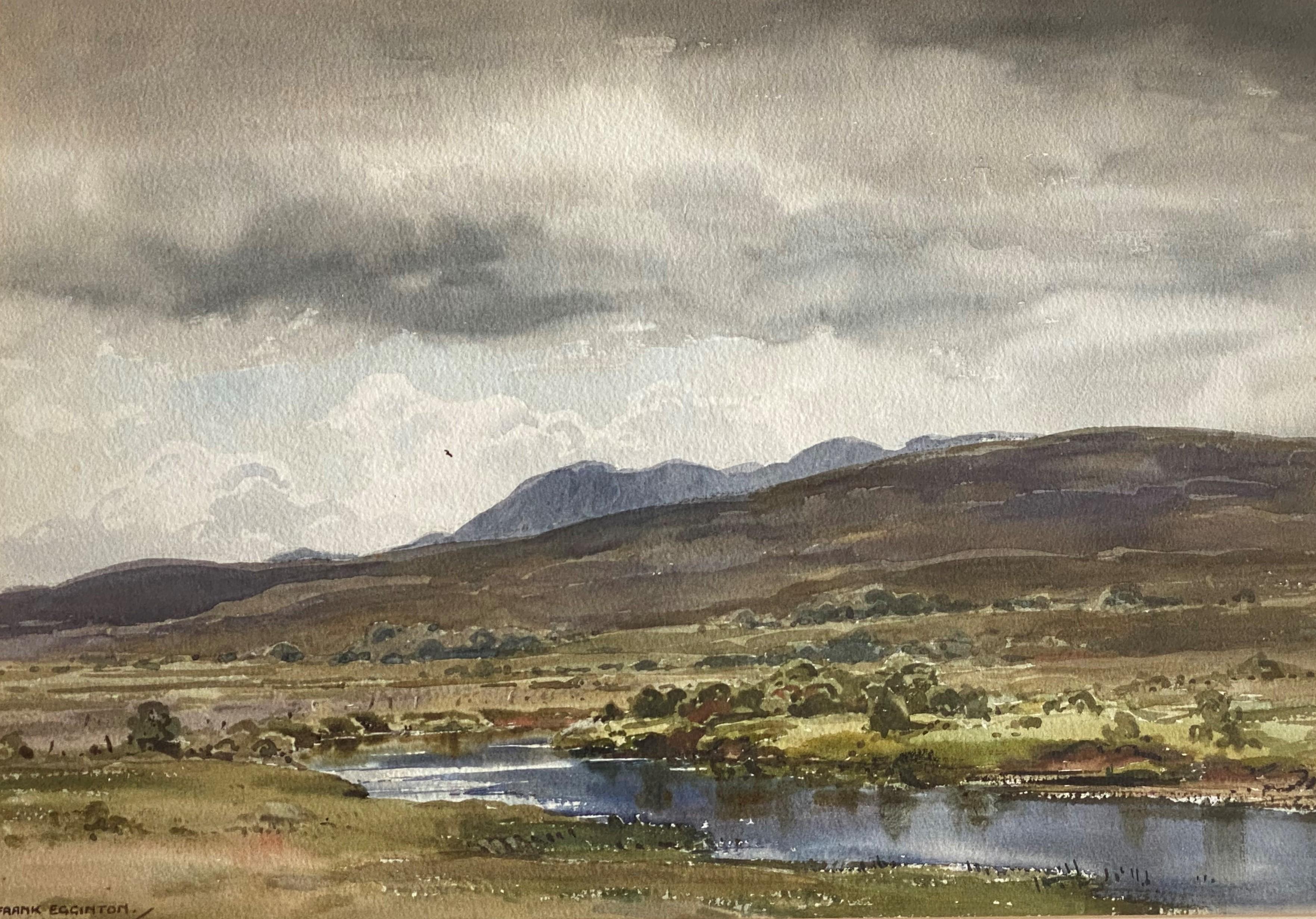 Frank Egginton RCA FIALL 1908 – 1990 signed watercolour Irish Landscape