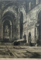 """Naylor """"Momatre Paris"""" etching"""