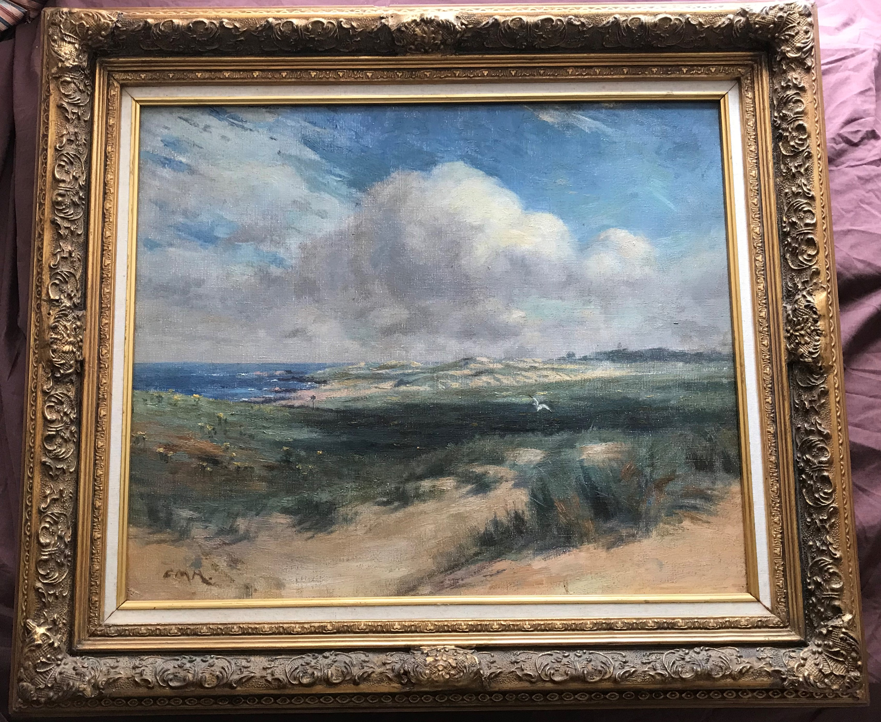 Charles Martin Hardie 1858-1916 ARSA 1886, RSA 1895, Oil, Iona Coastline - Image 2 of 5