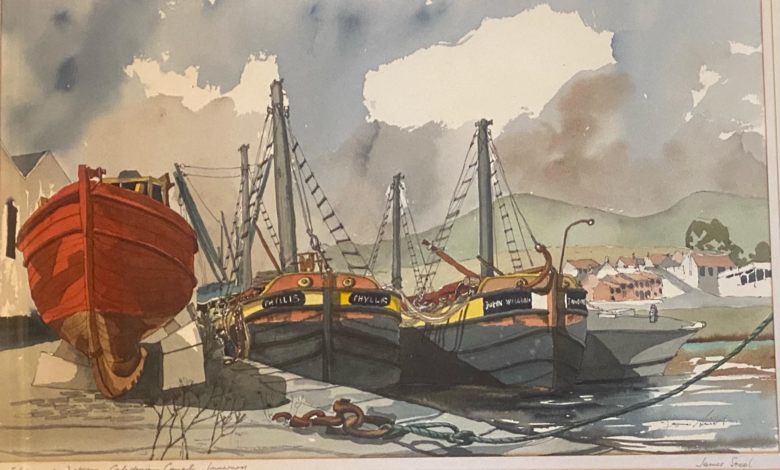 """""""Flotsam and Jetsam"""" by James Steel Scottish artist active 1980's - 2010 FRTPI"""