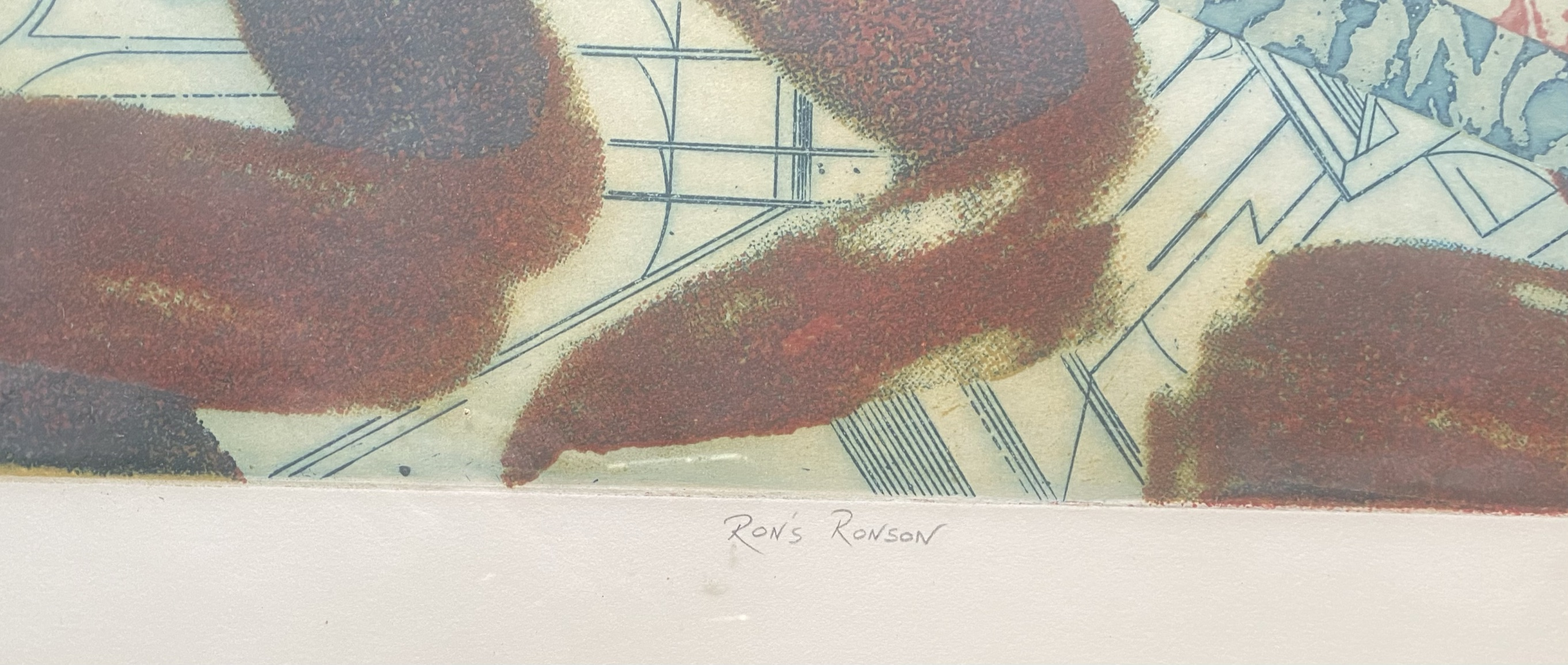 """Clive Bristow """"Rons Ronson"""" artists proof - Image 3 of 5"""