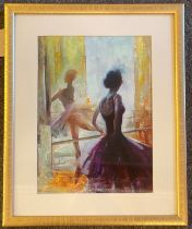 """Stefka O'Doherty """"Reflections"""" Signed oil on board"""